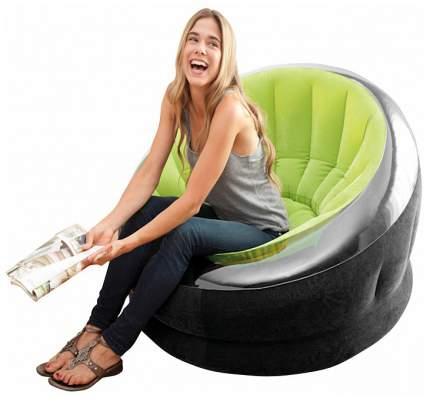 Надувное кресло Intex «Empire Chair» (112х109х69 см) с68581 Зеленый