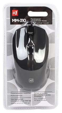 Проводная мышка Defender MM-310 Black