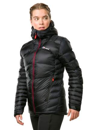 Спортивная куртка женская Berghaus Ramche Mountain Reflect Down Insulated, black, XS