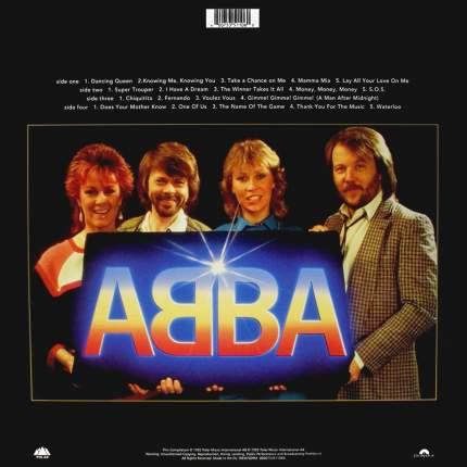 ABBA   Gold (Greatest Hits)(2LP)