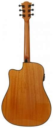 Электроакустическая гитара шестиструнная LAG T88DCE
