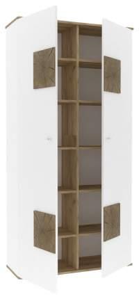 Платяной шкаф Любимый Дом LD_55919 35х92х186, белый/дуб золотой