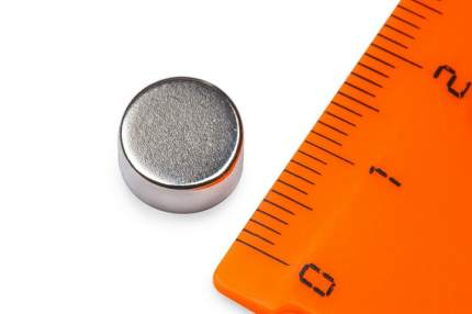 Неодимовый магнит Forceberg диск 10х5мм, 8шт