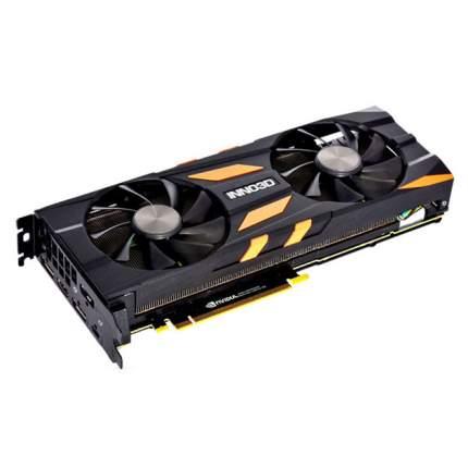 Видеокарта 8Gb Inno3D GeForce RTX 2080 X2 OC (N20802-08D6X-118063)