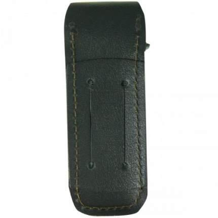 Чехол Tiger для магазина ( обоймы ) ПМ на липучке кожаный черный