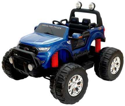 Электромобиль FORD RANGER, 4WD полный привод, глянец синий, EVA, монитор Sima-Land