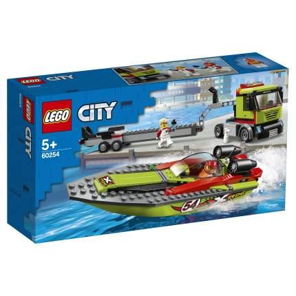 Конструктор LEGO City Great Vehicles 60254 Транспортировщик скоростных катеров