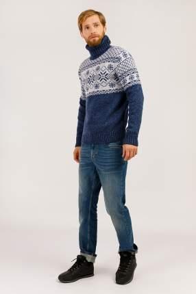 Джемпер мужской Finn Flare W19-42108 синий XL