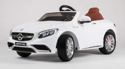Детский электромобиль Barty Mercedes-Benz S63 AMG (Лицензия), Белый