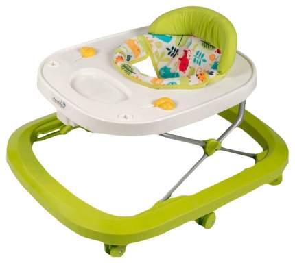 Ходунки детские с электронной игровой панелью AMAROBABY Walking Baby GREEN (зеленый)