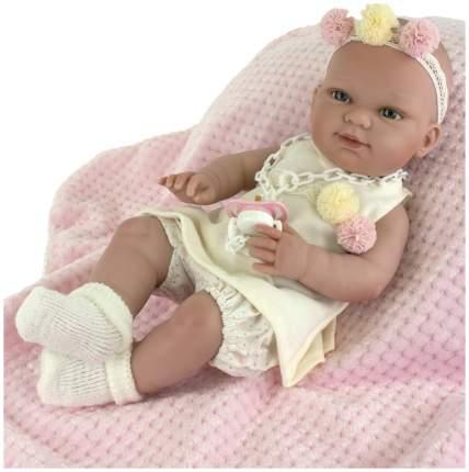 Пупс Nines d'Onil Новорожденная малышка, с пледом