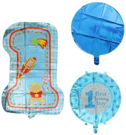 """Букет из шаров """"Первый день рождения малыша"""", фольга, набор 5 шт. Sima-Land"""
