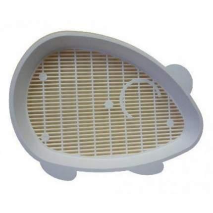 Лоток для кошек ZooExpress Мышка с низким бортом, в ассортименте, 41 х 30 х 5,5 см