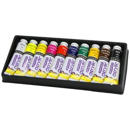 Акриловые краски Daler Rowney Selection Graduate 10 цветов