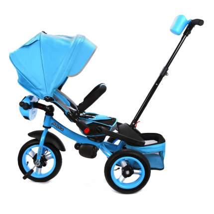 Велосипед трехколесный Moby Kids Leader 360° AIR Car с разв.сиденьем темно-синий 641210