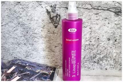 Флюид разглаживающий термо-защищающий для волос / 3-LISAP ULTIMATE 250 мл
