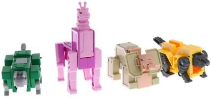 Робот-рейнджер 1TOY Lingvo Zoo Зообот буквы английского алфавита Трансботы 4 буквы K L M N