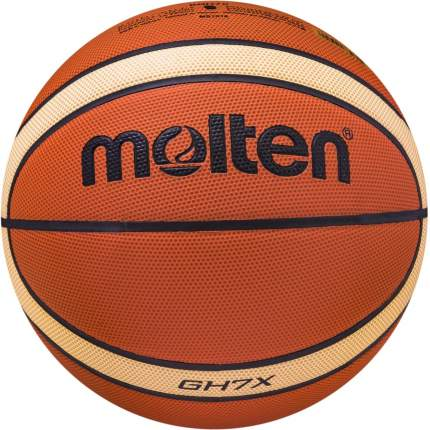 Баскетбольный мяч Molten BGH7X №7 brown