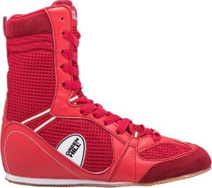 Боксерки Green Hill PS005, красные, 37