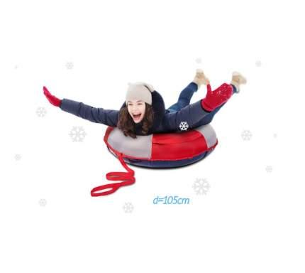 Тюбинг Sweet Baby Glider 95 см Silver Red