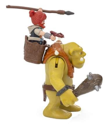 Игровой набор Playmobil Гномы Гигантский тролль с боевым гномом