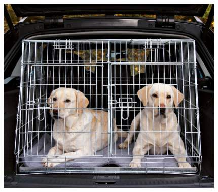 Клетка для собак Trixie Double Kennel Двойная, 93 х 68 х 79 см
