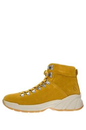 Ботинки женские Tamaris желтые