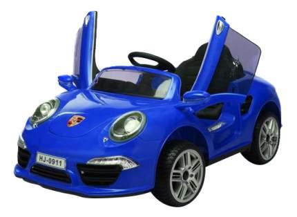 Машина аккум. порше 911, р-р 120x69x50см,синяя
