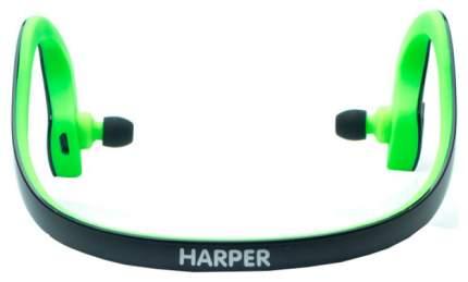 Беспроводные наушники Harper HB-300 Black\Green