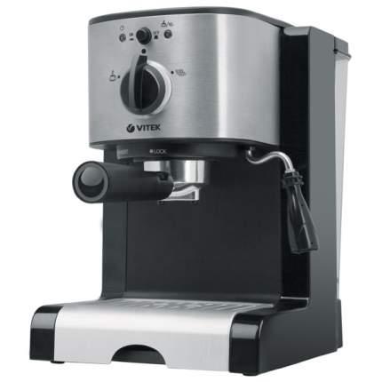 Рожковая кофеварка Vitek VT-1513 BK Black