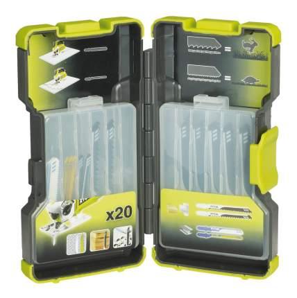 Набор пилок для лобзика Ryobi RAK20JB 20pcs Jigsaw Blade Kit