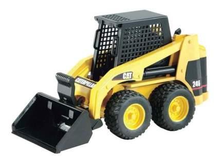 Мини-погрузчик колёсный Bruder CAT с ковшом