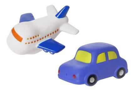 """Набор игрушек для ванны """"машинка и самолет"""", 2 шт."""