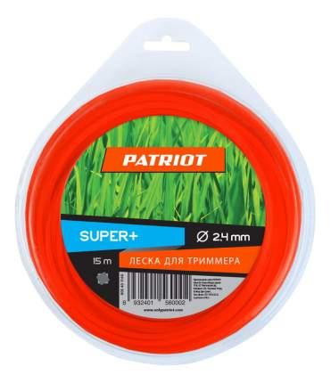 Леска для триммера PATRIOT Super Plus D 2,4 мм L 15 м 805401160