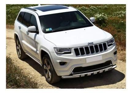 Защита порогов RIVAL для Jeep (R.2705.004)