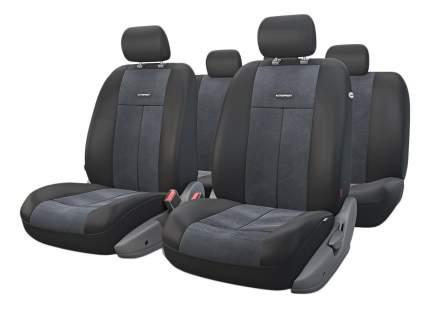 Комплект чехлов на сиденья Autoprofi TT-902V BK/BK