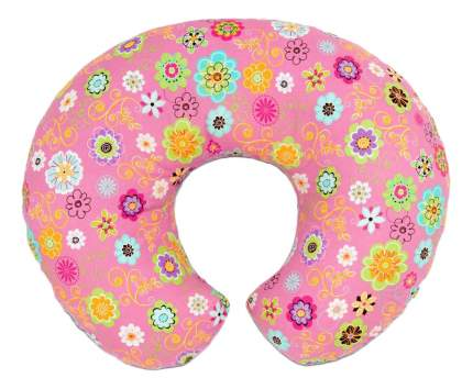 Подушка для кормления Chicco с хлопковым чехлом «Boppy», Роз 7990283
