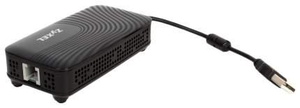 Wi-Fi роутер ZyXEL Plus DSL Черный