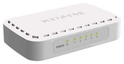 Коммутатор NetGear FS605-400PES Белый