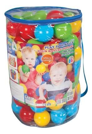 Шарики Pilsan для сухого бассейна 100 штук 9 см в пакете-сумке