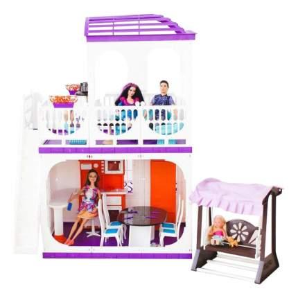 Кукольные домики Огонек Конфетти 80 см С-1334