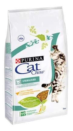 Сухой корм для кошек Cat Chow Special Care Sterilised, для стрелизованных, птица, 15кг