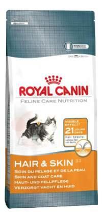 Сухой корм для кошек ROYAL CANIN Hair & Skin Care, для кожи и шерсти, 0,4кг