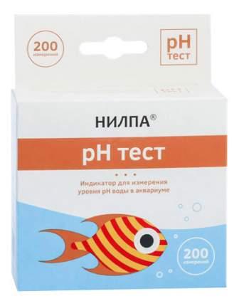 Тест для воды НИЛПА pH для измерения уровня кислотности воды