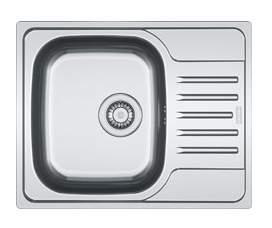 Мойка для кухни из нержавеющей стали Franke Polar PXL 611-60 1010192875 серебристый
