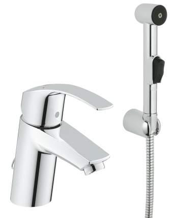 Смеситель с гигиеническим душем Grohe Eurosmart 23124002 хром