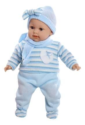 Кукла Arias Elegance в голубом костюме, 42 см