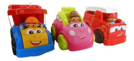 Набор пластиковых машинок Mattel Mega Bloks CND37