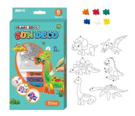 Наборы для создания витража AMOS Динозавры