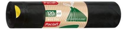 Мешок для мусора Paclan с тесьмой ECO LINE 120 л 10 шт